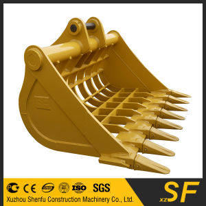 Excavator Skeleton Bucket, Excavator Machinery Sieve Riddle Bucket pictures & photos