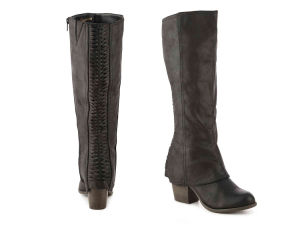 Women′s Western Inside Zipper Stacked Heel Boots (HT10021-5) pictures & photos