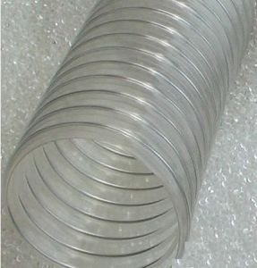 Food Grade Spiral Steel Wire Reinforced PVC Hose pictures & photos