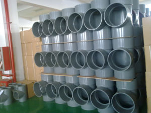Plastic PVC Pipe Fitting/PVC Fitting for Water Supply and Waste pictures & photos