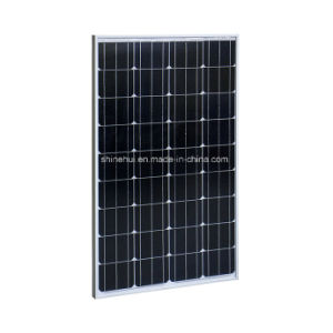 100W Cheap Price High Efficiency Monocrystalline Solar Panel Module pictures & photos
