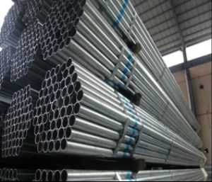 BS1387 Galvanized Round Steel Pipe for Greenhouse Construction pictures & photos