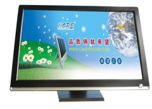 19 Inch LED Widescreen Resistive 4 Wire Touch Screen Monitor pictures & photos