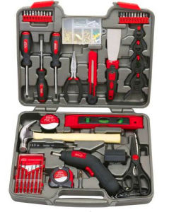 144PCS Drill Set with Hand Tools in Blowing Case (FY144B2) pictures & photos