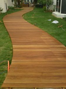Teak Exterior Decking From Foshan Factory pictures & photos