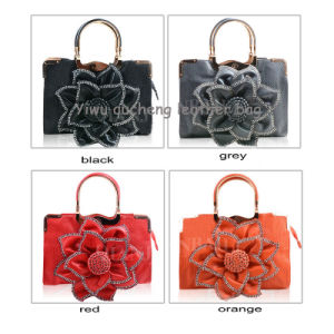 Beautiful Flower Handbags with Custom Printed
