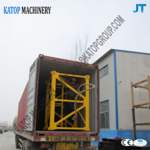 China Export PT5610 Tower Crane for Construction Machinery pictures & photos