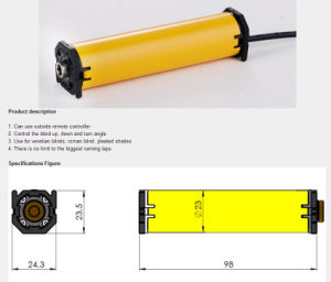 Hy16by DC Venetian Blinds Motor pictures & photos