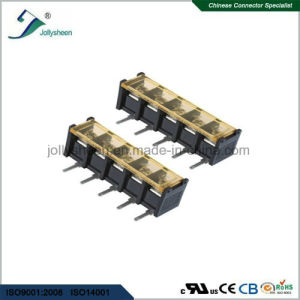 5pin Barrier Terminal Blocks Right Angle Type with Clear PC Safety Cover pictures & photos