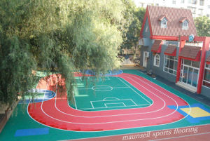 Bwf Certification Outdoor PVC/Vinyl Badminton Sport Surface Floor pictures & photos