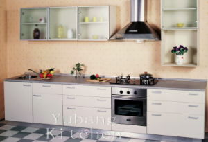 Baked Paint Kitchen Cabinet (M-L97) pictures & photos