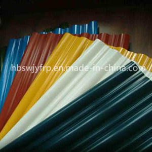 FRP Corrugated Sheet in Various Colors pictures & photos