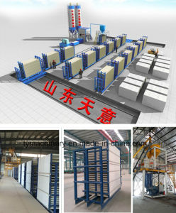 Compound Wall Panel Production Line pictures & photos