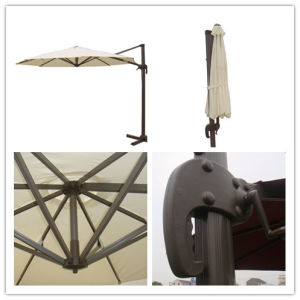 Hz-Um101 10ft Round Roma Umbrella Outdoor Umbrella Sun Parasol Beach Umbrella for Garden Umbrella pictures & photos