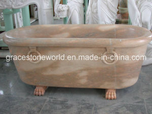 Marble Carved Bath Tub for Bathroom pictures & photos