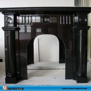 Granite Fireplace Mantel pictures & photos