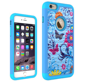 2016 Hot Sale OEM Newest Fashion Colorful Diamond Cell Phone Case for iPhone 6/6s Mobile Cover pictures & photos