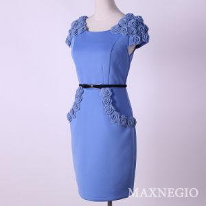 New Arrival Short Sleeve Formal Dresses for Women (3-5533)