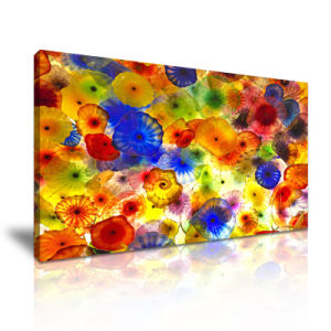 Wall Decoration Flowers Art Ink Painting with Canvas Prints