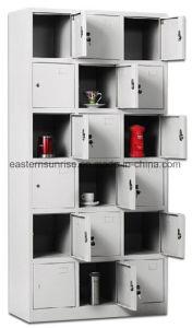 Wholesale 18 Door Metal Steel Iron Clothe Locker/Wardrobe/Cabinet pictures & photos