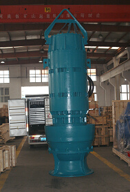High Quality Big Axle-Flowed Submersible Pump pictures & photos