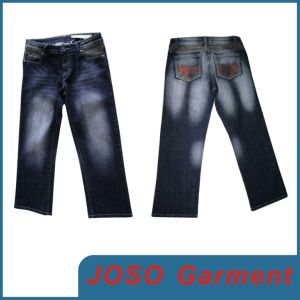 Dark Blue Women Denim Jeans (JC1043) pictures & photos