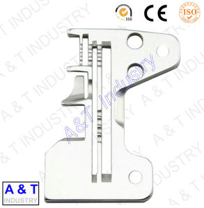 CNC Customized Brass/Stainless Steel/Brass/Needle Plate / Sewing Machine Parts pictures & photos