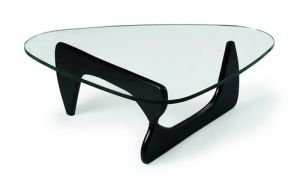 Designer Noguchi Side Coffee Glass Table