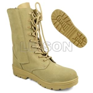 Military Desert Tactical Boots with ISO Standard pictures & photos