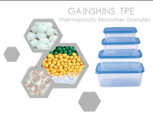 Gainshine Food-Grade TPE Material for PP&Crisper Encapsulation
