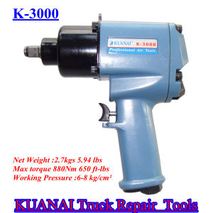 High Quality Truck Repair Twin Hammer Mechanism Air Impact Wrench