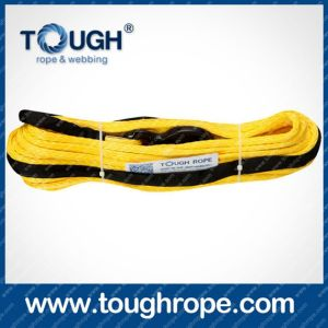 Tr-12 ATV Winch Dyneema Synthetic 4X4 Winch Rope with Hook Thimble Sleeve Packed as Full Set pictures & photos