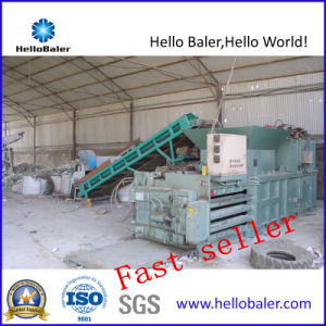 Automatic Closed Door Baler for Plastic Pet Bottle with CE pictures & photos