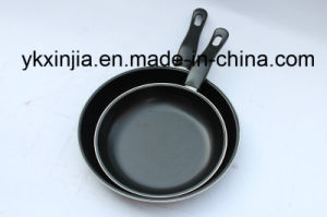 Kitchenware Carbon Steel Non-Stick Coating Frying Pan Sets pictures & photos