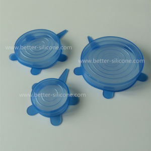 Stackable Food Grade Silicone Pot Cover pictures & photos