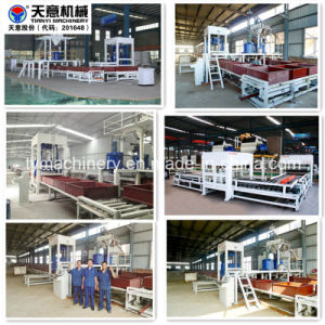 China Foamed Cement Insulation Board Production Line pictures & photos