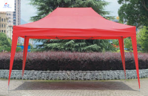 Hz-Zp79 3X4.5m All Cross Folding Gazebo, Canopy, Tent, Pop up Tent, Easy up Tent, Party Tent pictures & photos