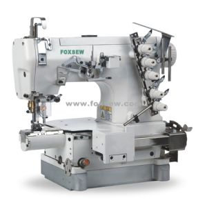 Small Cylinder Bed Interlock Sewing Machine for Baby Clothing pictures & photos