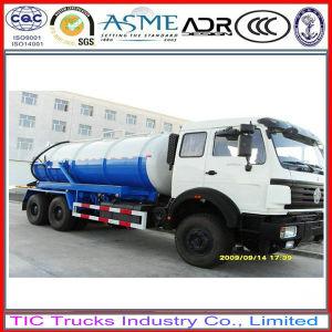 North Benz 6X4 Sewage Vacuum Truck / Septic / Tanker Truck 16cbm.