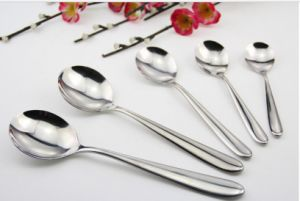 Mirror Polished Stainless Steel Spoon for Cutlery (C014) pictures & photos