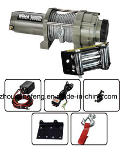 Electric Winch P3000-D with Steel Cable pictures & photos