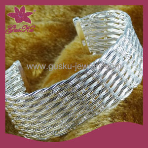 Fashion 925 Silver Imitation Jewelry Bangle (2015 Gus-CPBL-083) pictures & photos