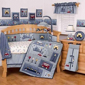 New Arrival 100% Cotton Baby Crib Bedding Set (baby 005) pictures & photos