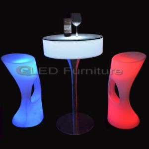 LED Cocktail Bar Table Nightclub LED Furniture