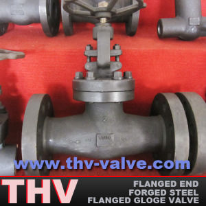 Forged Steel Lf2 Integral Flanged Globe Valve