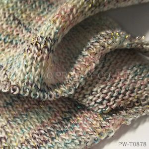 Twisted Yarn with Shiny and Rainbow Color Effect pictures & photos