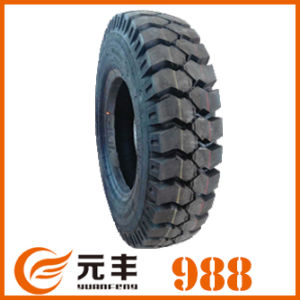 Nylon Bias Truck Tire (1300-25) with Rib and Lug Pattern pictures & photos
