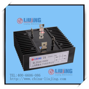 Single Phase Bridge Diode Bridge Rectifier Ql250A pictures & photos