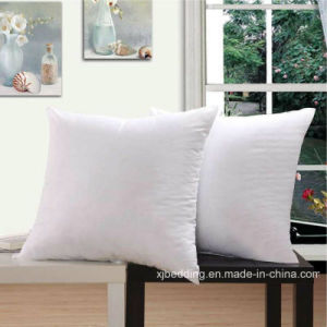 Sofa Pillow Polyester Fabric 3D Padding Back Cushion pictures & photos