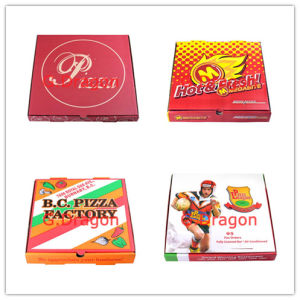 Locking Corners Pizza Box for Stability and Durability (GD-LB) pictures & photos